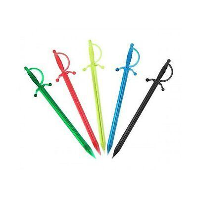 BarConic 3.5-500 Sword Toothpicks-3.5 Inch Food Grade Plastic Cocktail Picks ...