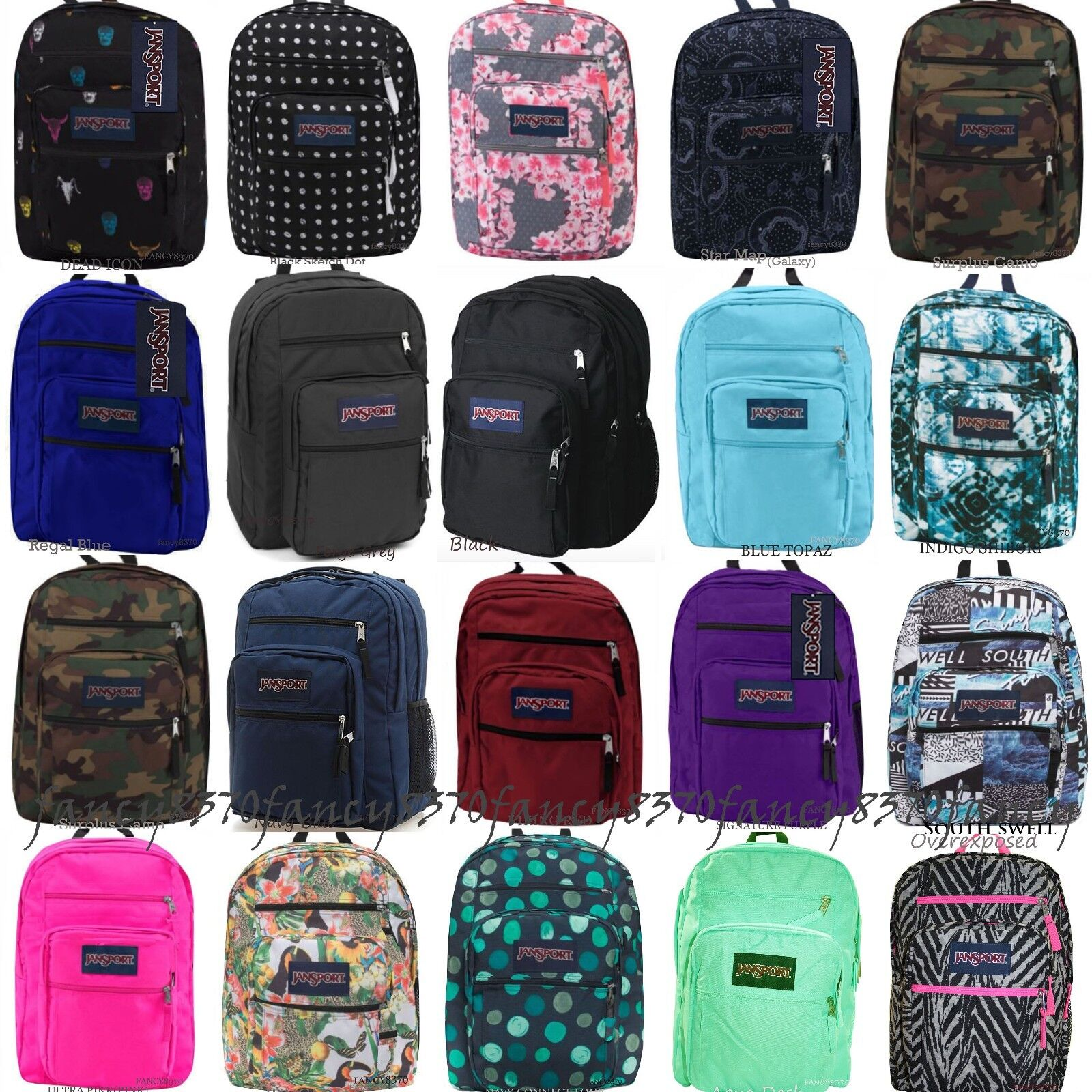 Item For sale  New with tags   JANSPORT BIG STUDENT 100% AUTHENTIC BACKPACK  SCHOOL BAG BLACK 6e8e7426672aa