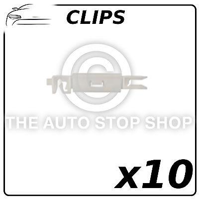 Clips Pare-Brise Citroen C2 / Peugeot 407 Lot de 10