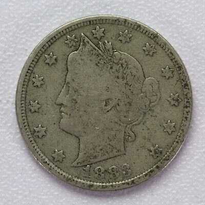 1 1883 *no cent* Liberty V Nickel //// Choice AU+ //// 1 Coin