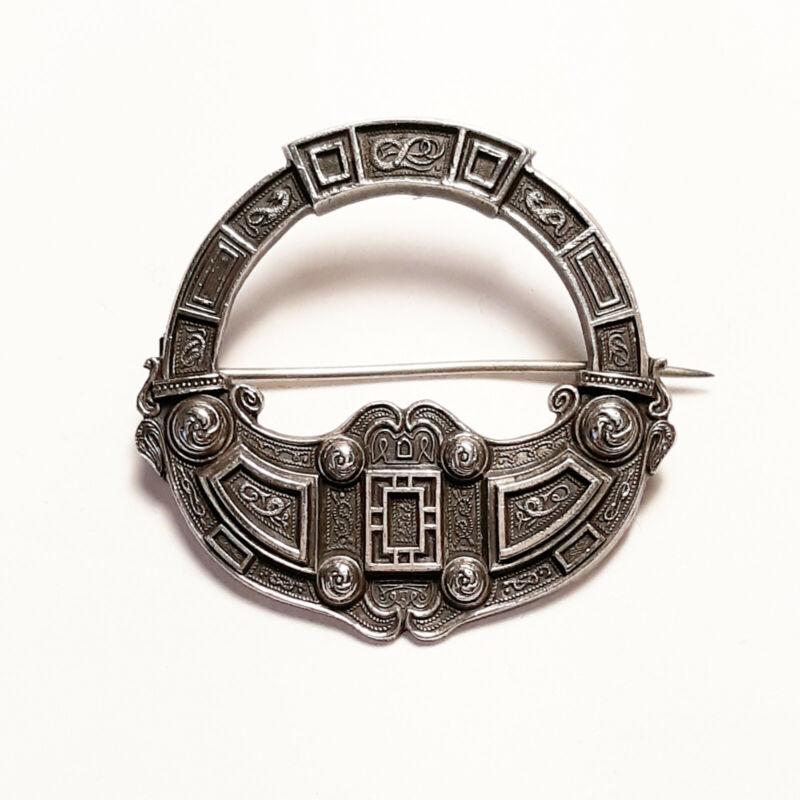 Rare Sterling Silver Scottish Brooch Pin Badge Henry Tatton Edinburgh