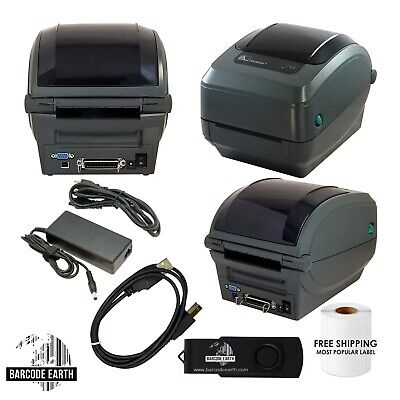 Parallel Thermal - Zebra GK420T Thermal Barcode Printer USB, Serial Parallel, Labels, & Driver