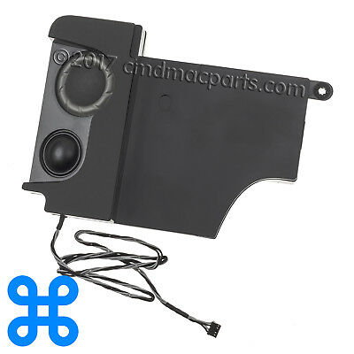 "LEFT SPEAKER - Apple iMac 27"" A1312 2009 2010 2011 MB952 MB953 922-9153 922-9835"