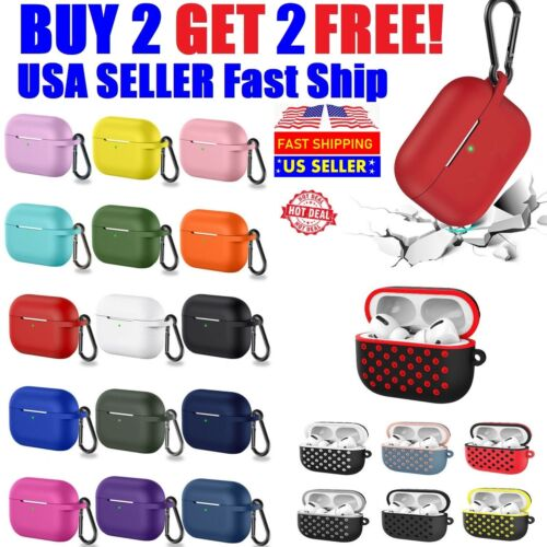 For AirPods Pro Case Cover Silicone Sport Case Shockproof Protective Cover Cases, Covers & Skins