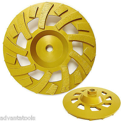 7 Diamond Cup Grinding Wheel 3040 Grit For Concrete Epoxy Removal 58-11