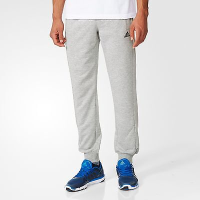 b4c4a5ac09e9 Adidas Mens  ESS Comfort  Tapered Jogger Track Sweat Pants Large Grey New  w Tags