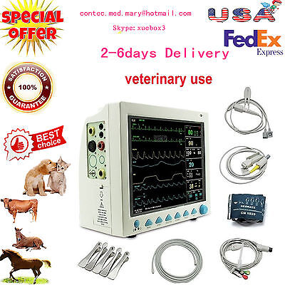 Veterinary Icu Vital Signs Patient Monitorcontec Cms8000-vetmulti-parameter