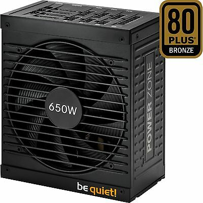 be quiet! POWER ZONE 650W, PC-Netzteil, schwarz