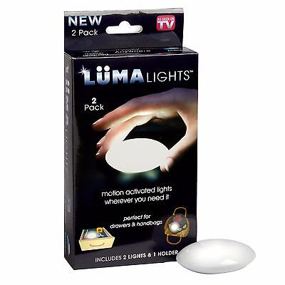 Luma Lights Motion Activated LED Night Kitchen Bathroom As Seen On Tv,  2 Pack