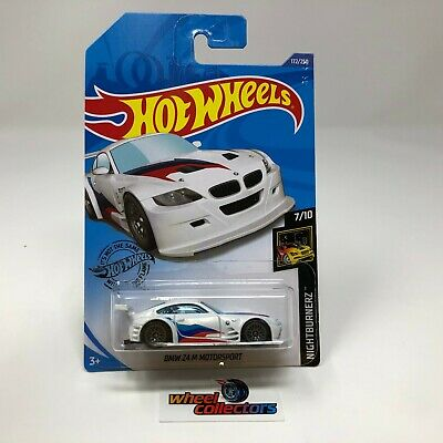 BMW Z4 M Motorsport #172 * WHITE * 2020 Hot Wheels Case J * ZE1