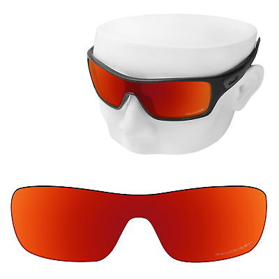 OOWLIT Replacement Sunglasses Lenses for-Oakley Turbine Rotor POLARIZED (Oakley Turbine Rotor Lenses)