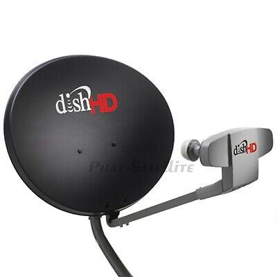 Flat Satellite Dish - DISH NETWORK 1000.2 PORTABLE RV KIT: 3 feet TRIPOD, RG6 cable, HDMI, FLat COAX