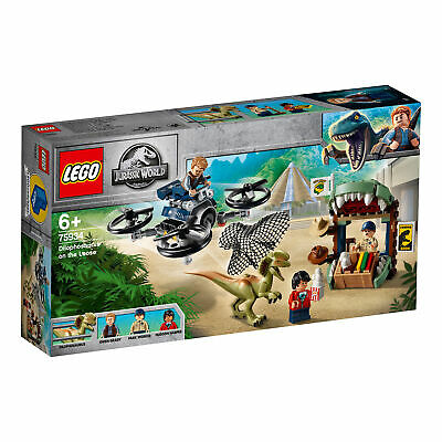 75934 LEGO Jurassic World Dilophosaurus on the Loose Dinosaur Set 168 Pieces 6+