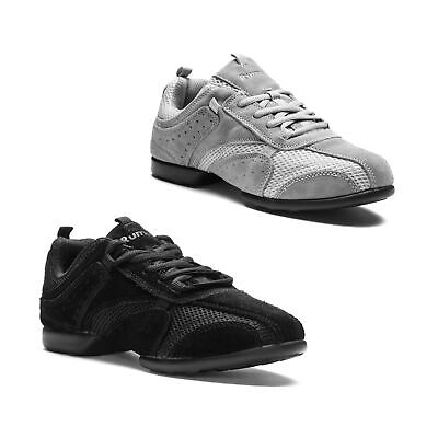 Tanz Sneaker Dance Tanz Sport Sneaker Hip Lindy Hop Rumpf Nero 1566 Training