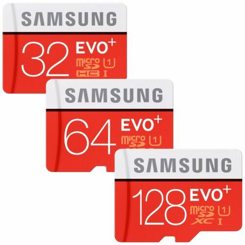 32/64/128GB Samsung EVO plus Micro SD SDHC/SDXC Card CLASS 1