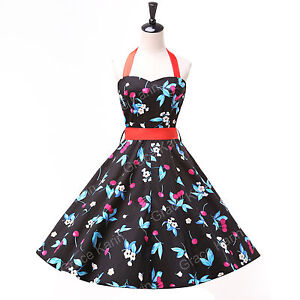 CLEARANCE~ Vintage 1950s Rockabilly Swing Pinup Retro Prom Party evening dresses
