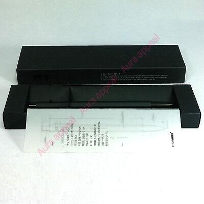 Monami 100% Genuine Black 0.7mm Ballpoint Pen (with Tracking) Premium Matte Care