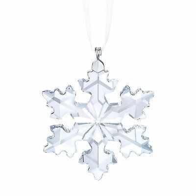 2016 Swarovski Annual Christmas Small Star Snowflake Ornament Crystal 5180211