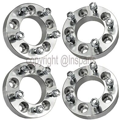 "4 pcs Wheel Spacers Adapters 5x4.75 to 5x5.5 | 1.25"" Thick 