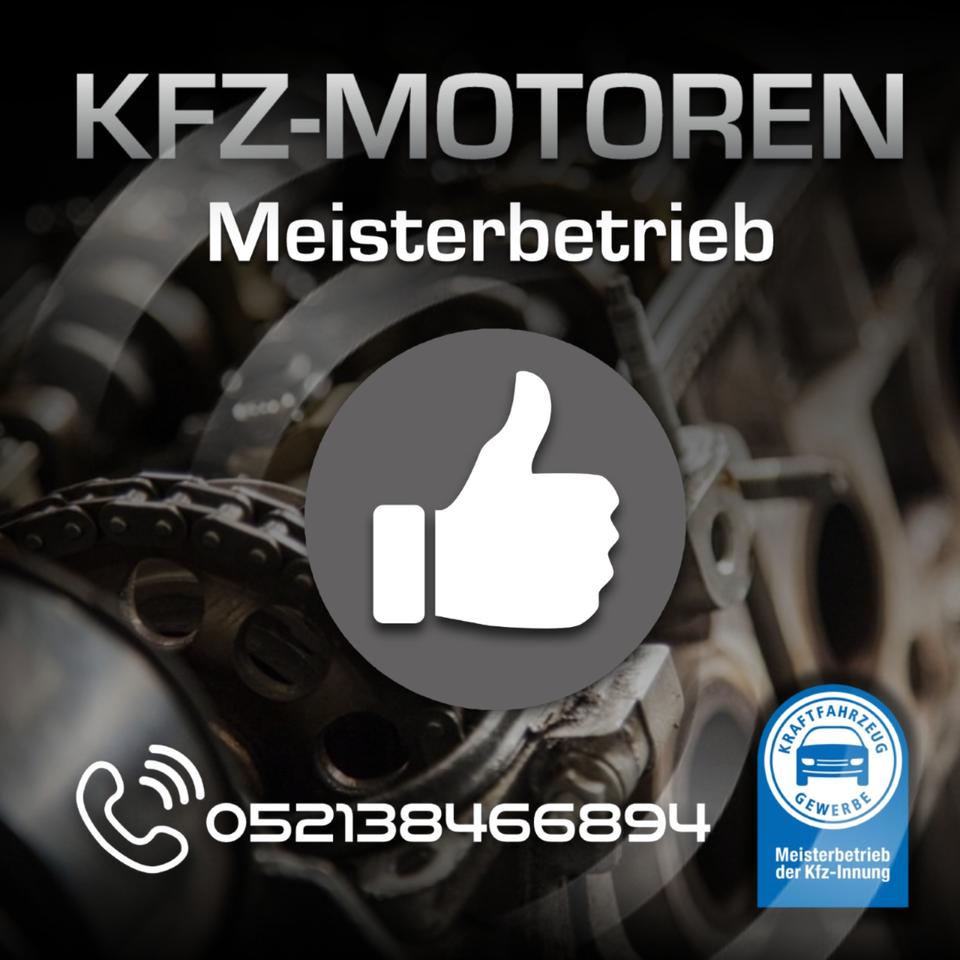 Mercedes Benz C250 CDI W204 204 OM 651.911 Motor-Überholung in Bielefeld