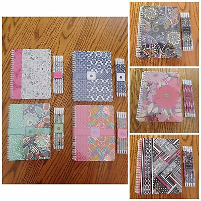 Vera Bradley - Mini Notebook and Pens (or) Pencils Combo - New with tags](Notebook And Pen)