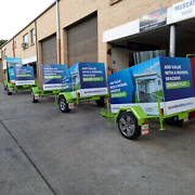 Brand new advertising trailers Girraween Parramatta Area Preview