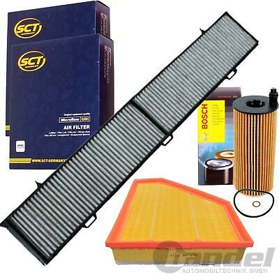 FILTER SET INSPEKTIONS SATZ BMW 1ER E81  E82 E88 3er E90 E91 X1 E84 - Luft Filter Set
