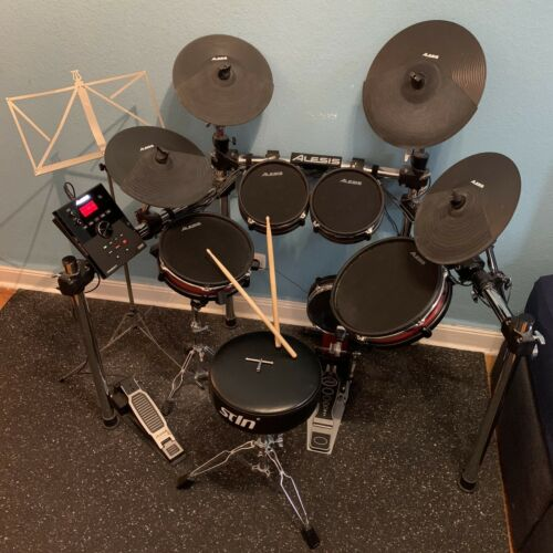 E-Drum Set Alesis Crimson II Kit E-Drum Set BUNDLE Elektr. Schlagzeug KOMPLETT