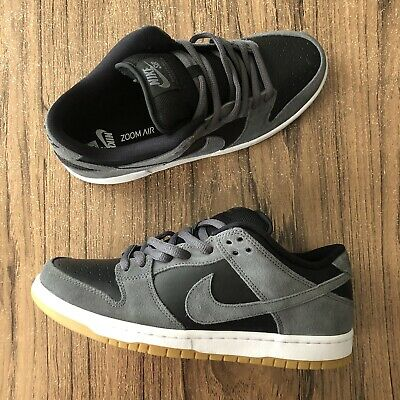 A1283G Nike SB Dunk Low TRD Dark Grey AR0778-001 Mens Size 9 Skate Shoes NEW Dunk Low Skate Shoes