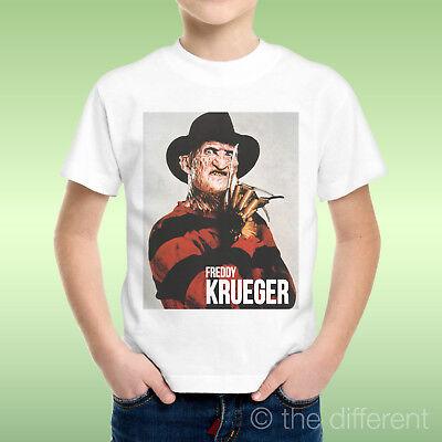 T-Shirt Kind Junge Freddy Krueger nightmare Film Horror Geschenkidee