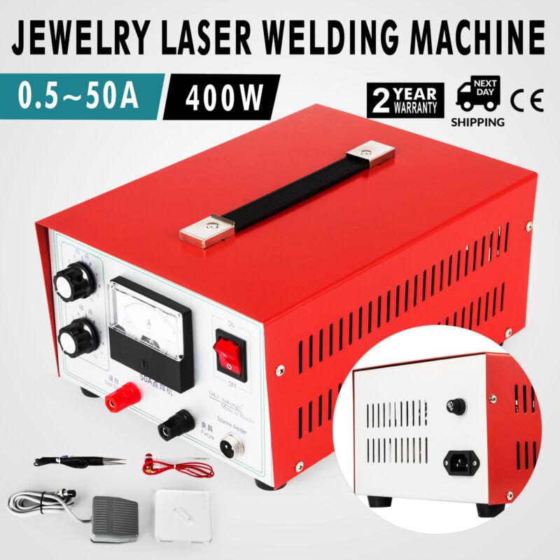 JEWELRY LASER WELDING MACHINE 0.5-50A HANDHELD PULSE SPARKLE SPOT WELDER 110V