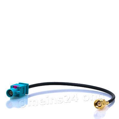 Antennen Adapter Stecker Adapter Kabel Fakra (M) auf SMA (M) für GSM GPS DAB