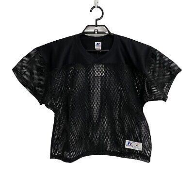 Russell Athletic Deporte Ropa Niños Jóvenes Camiseta Poliéster Negro Corto Talla