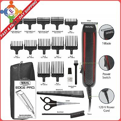 Wahl Hair Clippers Beard Mustache Professional Trimmer Barber Shaver T -