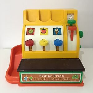 1974 Fisher-Price Cash Register No. 926