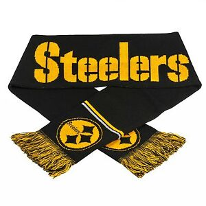 Pittsburgh Steelers Scarf Knit Winter Neck NEW 65