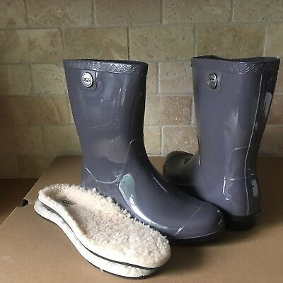 UGG SIENNA NIGHTFALL RUBBER RAIN BOOTS FUR INSOLE SIZE US 9 WOMENS for sale  Shipping to Canada