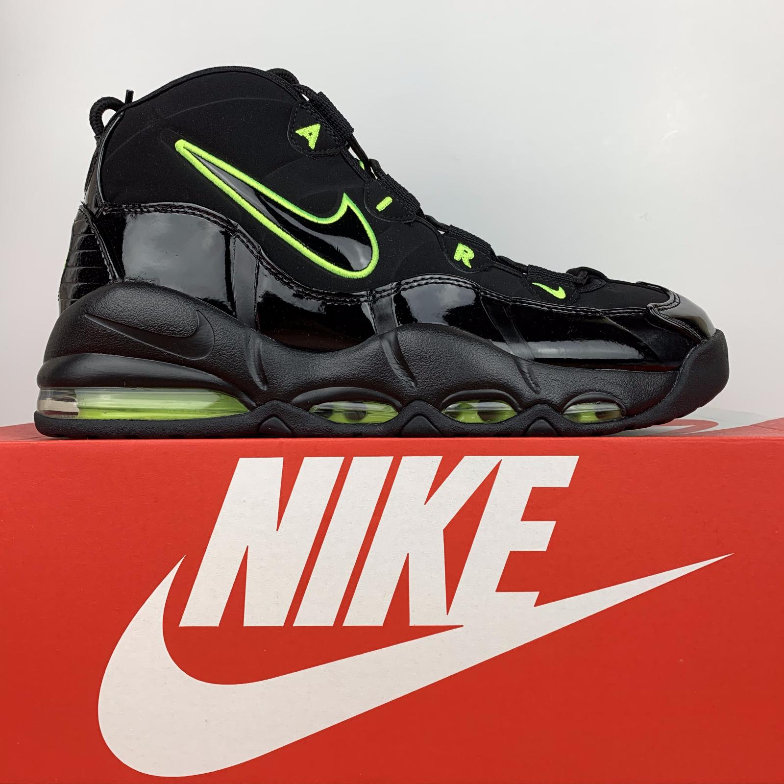 Nike Air Max Uptempo '95 Basketball Shoes Black Volt CK0892-