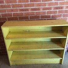 Wooden bookcase free Drummoyne Canada Bay Area Preview