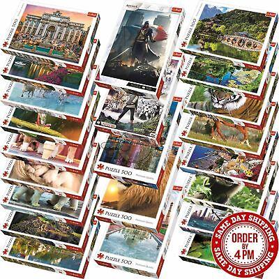 Trefl 500 Piece Jigsaw Puzzle Animals Landscapes