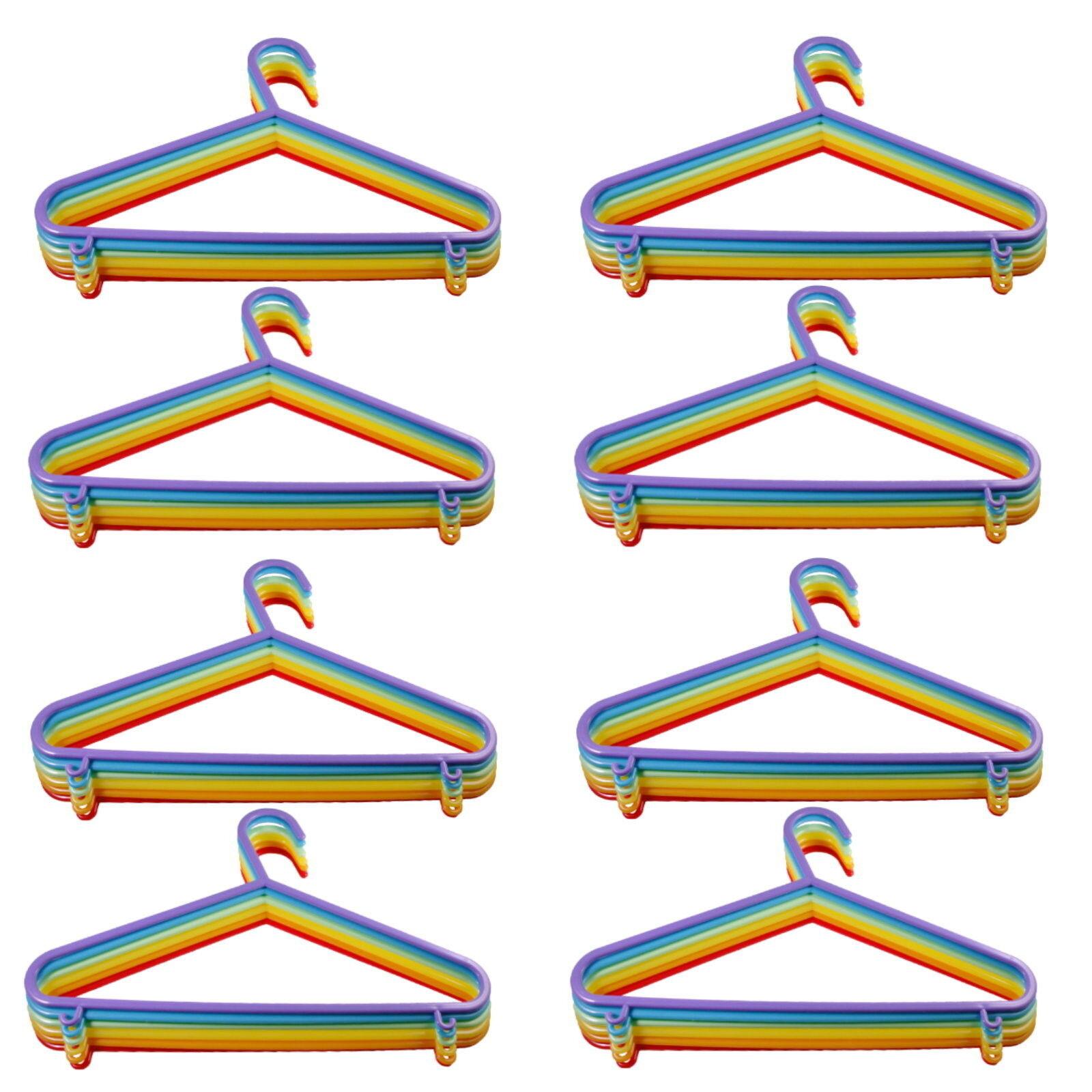 24 - 120 Stück Kinderkleiderbügel Kinder Kleiderbügel Baby Hosenbügel Bügel