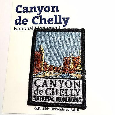 Official Canyon de Chelly National Monument Souvenir Patch Arizona Park