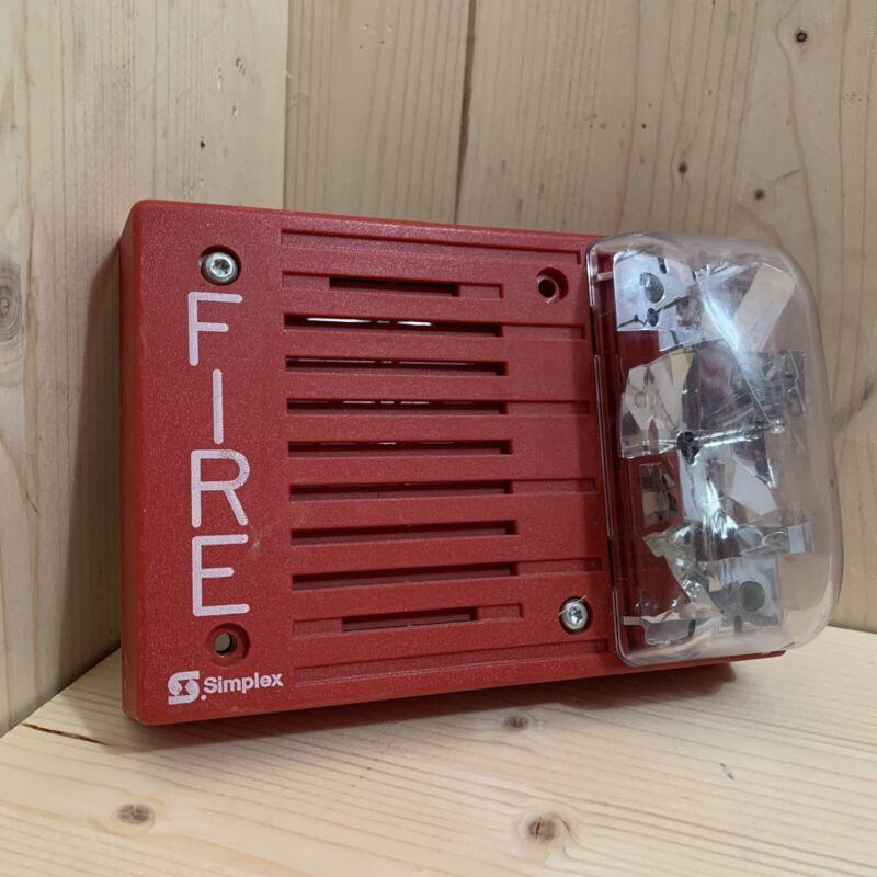 Simplex 4903-9215 Fire Alarm Horn Strobe Mechanical (Free-Run)