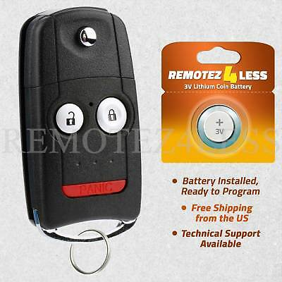 For 2007 2008 2009 2010 2011 2012 2013 Acura RDX Car Remote Entry Key Fob