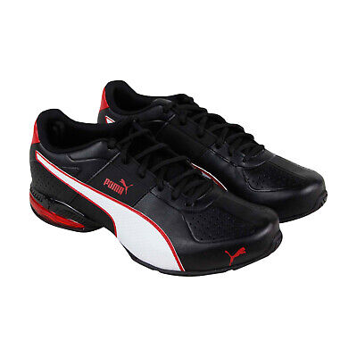 Low Leather Sneakers - Puma Cell Surin 2 Fm Mens Black Leather Low Top Sneakers Shoes
