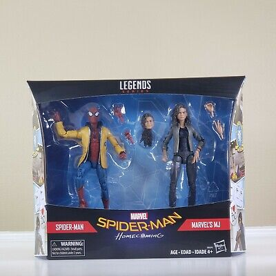Marvel Legends Series! Spider-Man Homecoming 2-Pack: Marvel's MJ & Spider-Man