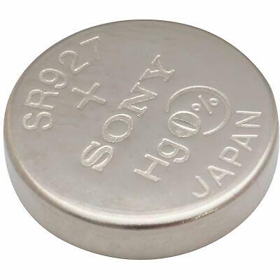 Sony #399/395 SR927W/SW 1.55V Silver Oxide Watch Battery 399 Silver Oxide Watch Battery