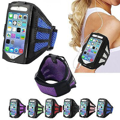 Premium Running Armband Case Jogging Cover For Apple iPhone 5S 5C 5 4S SE iPods