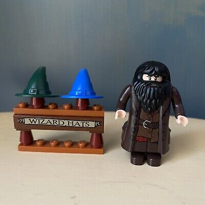 Lego Diagon Alley 10217 Wizard Hat Hagrid Minifigure Sticker Harry Potter
