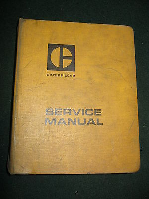 Caterpillar 631 633 637 Tractor Scraper Service Manual